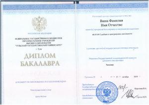 Диплом бакалавра Судебная и прокурорская деятельность